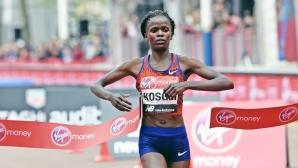 Косгей оглавява групата от кандидатки за приза лекоатлет на годината