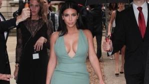 Ким Кардашиян шокира с топлес фото в социалните мрежи (снимки)
