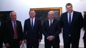 В разгара на скандала Данчо Лазаров и Любо Ганев на среща с Кралев