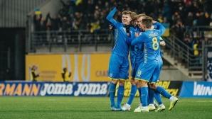 Украйна на Шева бие и в контролите
