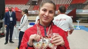 Два бронза за България на старта на щанги турнира в памет на Наим