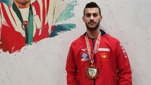 Злато за Стилян Гроздев на турнира в памет на Сюлейманоглу