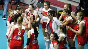 Волейболистките на ЦСКА с категорична победа над Раковски (статистика)