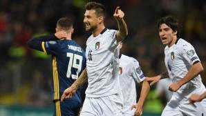 Италия продължи безгрешната си серия и постави нов рекорд