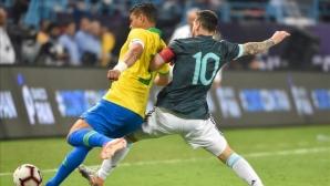 Тиаго Силва също нападна Меси: Само гледа как да се налага на съдиите