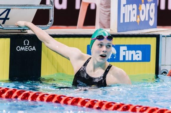 Първият световен рекорд на Международната плувна лига оценен на 30 хил. долара
