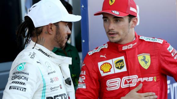 Ако Хамилтън иде във Ферари, Леклер ще го победи
