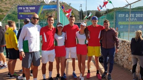Нестеров и Терзиев триумфираха с титлата на двойки в Израел
