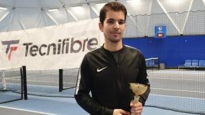 Любен Попов спечели шеста титла в Интерактив тенис
