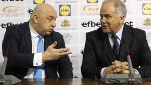 Красен Кралев: Наблюдаваме внимателно процесите във волейболната федерация
