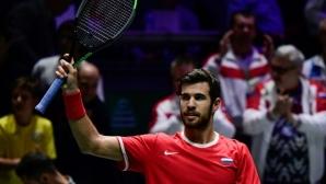 """Русия победи действащия шампион Хърватия на старта на """"Купа Дейвис"""""""