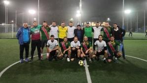 """Сборен отбор от журналисти и """"Вторите в света"""" отбелязаха една година от второто място на Мондиала"""