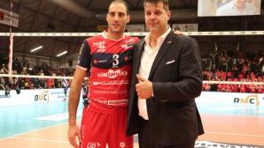 Алесандро Фей стана най-резултатният волейболист в Италия