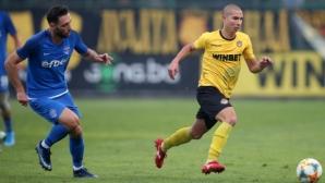 Ботев (Пд) награждава талант с професионален договор