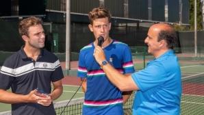 Симон Антони Иванов и Лазаров се класираха за втория кръг в Ираклион
