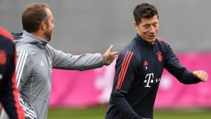 Левандовски за новия треньор: Той свърши отлична работа само за няколко дни