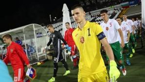 Капитанът на младежите играл със счупен пръст срещу Полша