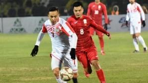 Умарбаев с 90 минути за Таджикистан срещу Киргизстан