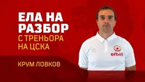 ЦСКА 1948 кани своите фенове на разбора на треньора