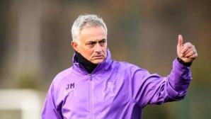 От Манчестър Юнайтед поздравили Моуриньо за новата работа