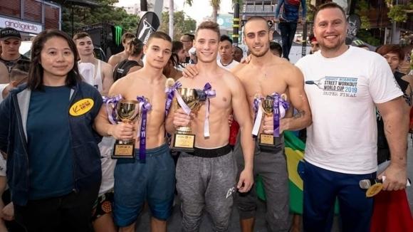 Два медала за България на финала на Световната купа по стрийт фитнес