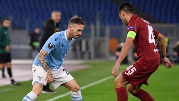Лацио съхрани шансовете си за елиминационната фаза в Лига Европа (видео)