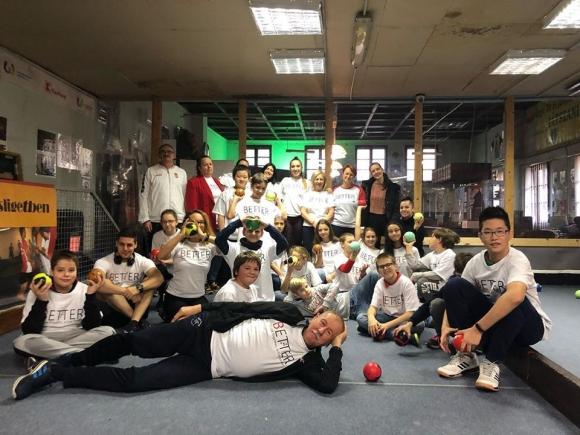АРБС взе участие в обучение и турнир по боче в Будапеща