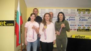 Самбото изпраща успешна година, Мария Оряшкова е уникална в света