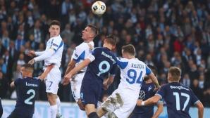 Малмьо пребори Динамо (Киев) в невероятен трилър