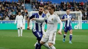 Реал Мадрид изплува на върха (видео + галерия)