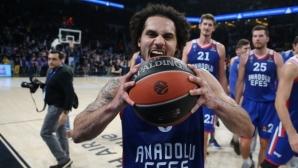 За историята: Ларкин вкара 49 точки в Евролигата! (видео)