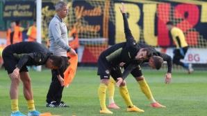 Диян Божилов: Отбелязахме, а след това нямахме проблем да спечелим мача