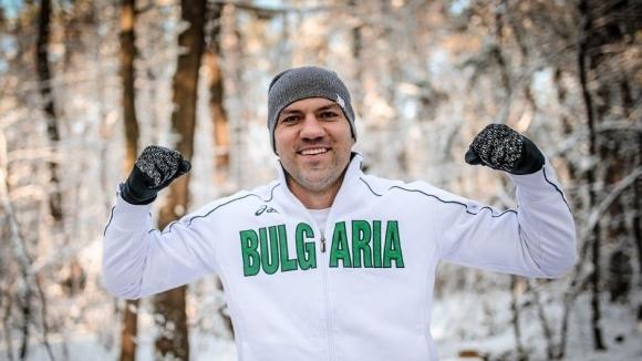 Снежна тренировка за Тервел Пулев в София (снимки)