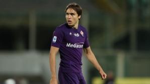 Фиорентина ще може да разчита на Киеза срещу Торино