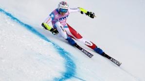 Швейцарец с първа победа за СК след триумф в Супер-Г