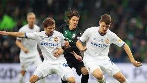 ЦСКА (М) не успя и срещу Краснодар, Гончаренко бесен на съдията (видео)