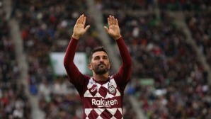 Давид Вия вкара гол в последния си мач (видео)