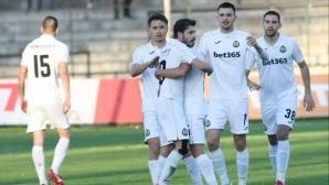 """Ботев (Враца) 0:1 Славия, червен картон за """"белите"""" (видео)"""