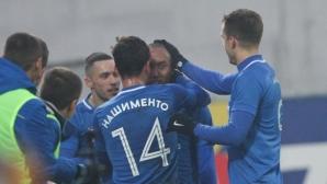 Левски доближи Лудогорец при завръщането на Костов (видео+галерия)