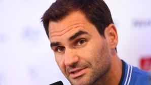 Федерер посочи най-големия си идол от детските години