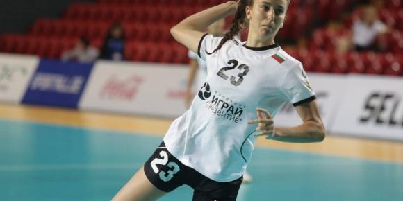 Мари Томова участва в камп на EHF