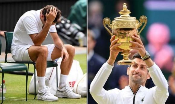 """Федерер: Плаках след загубата от Джокович на финала на """"Уимбълдън"""""""