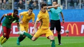 Капитанът на Австралия спира с националния отбор