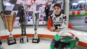 Изгряващата звезда на българския картинг пред Спортал: Мечтая за Формула 1