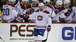 Татар вкара за десети път през сезона, Монреал победи Питсбърг в НХЛ