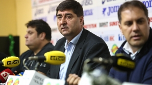 Издигнаха и Боре Кьосев за президент на БФ Волейбол (видео + галерия)