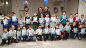 Коледно парти за децата на ФК Кюстендил