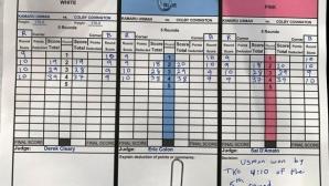 Съдийските карти на Усман - Ковингтън изумиха специалистите