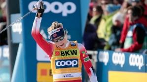 Четвърта поредна победа за Терезе Йохауг