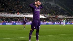 Фиорентина 0:1 Интер, отмениха гол на гостите